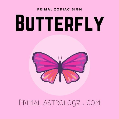 Primal Zodiac Sign of Butterfly