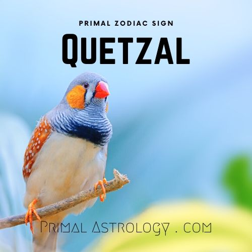 Primal Zodiac Sign of Quetzal