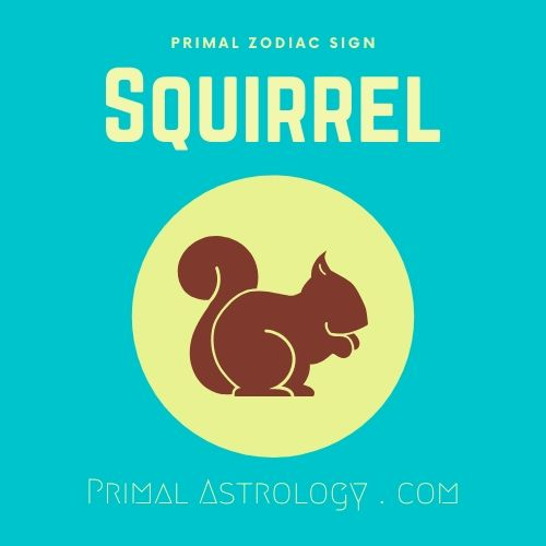 Primal Zodiac Sign of Squirrel