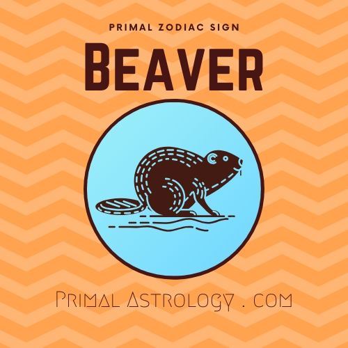 Primal Zodiac Sign of Beaver