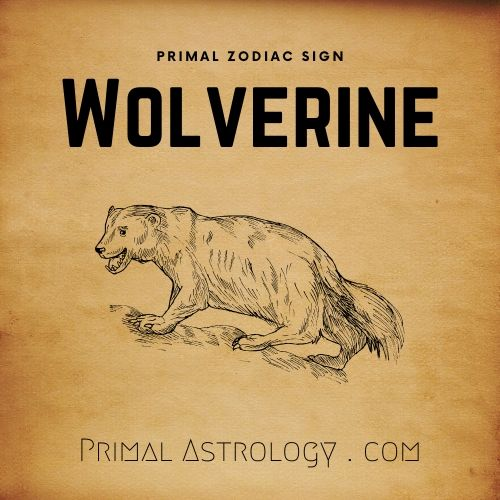 Primal Zodiac Sign of Wolverine